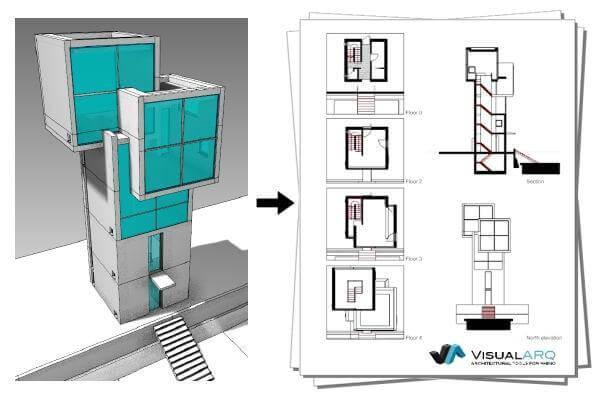 دانلود پلاگین visualARQ - آموزش راینو